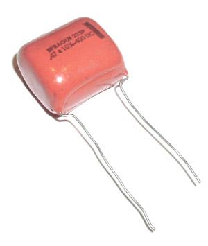 0.47uF .47uF 400V 10% Orange Drop Capacitors SPRAGUE 225P