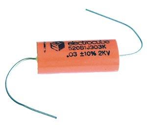 0.03uF .03uF 2000V Axial Film Capacitor