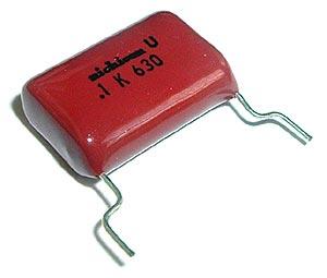 0.1uF .1 uF 630V 10% Radial Film Capacitor