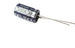 10uF 350V  Radial Electrolytic Capacitor