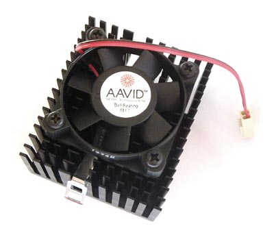12V 0.15A CPU Cooling Cooler Fan AAVID AFB0512MA