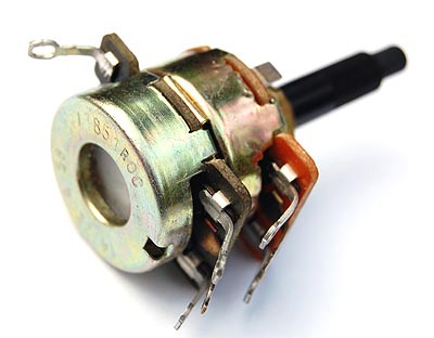 25K and 50K ohm Dual Ganged Potentiometer CTS 1377852