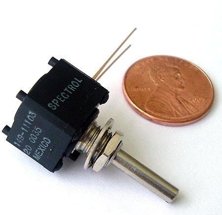 10K ohm 1W Precision Potentiometer Spectrol 149-11103
