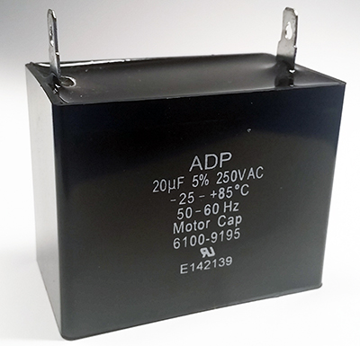 20uF 250VAC Motor Capacitor ADP250A206J
