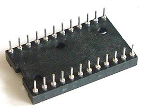24 Pin Machine IC Socket Augat 524-AG12D-ES