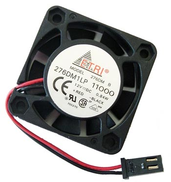 12V 0.07A 0.84W Fan 276DM1LP 276DM-1LP11-000 Etri