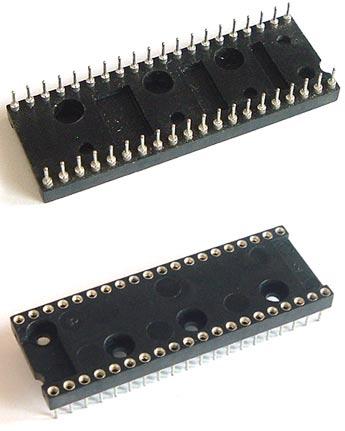 40 Pin Machine IC Socket Augat