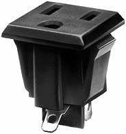 4300.0701 NEMA 5-15R Electrical Outlet Connector