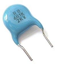 680pF 2000V Ceramic Disc Capacitor CK45-B3DD681KYNR