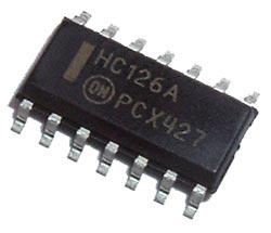 74HC126A MC74HC126ADR2 Buffer SMT IC ON Semiconductor