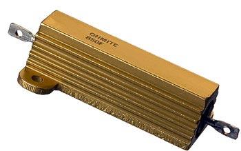 50W 10 ohm 1% Metal Wirewound Resistors Ohmite 850F10R