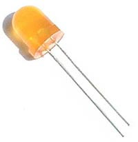 Orange 8mm Jumbo LED Lights