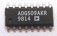 ADG509AKR ADG509A KR CMOS Analog Multiplexer IC