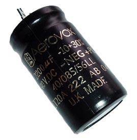 2200uF 40V Radial Aluminum Electrolytic Capacitor BHC Aerovox ALT20A222AB040