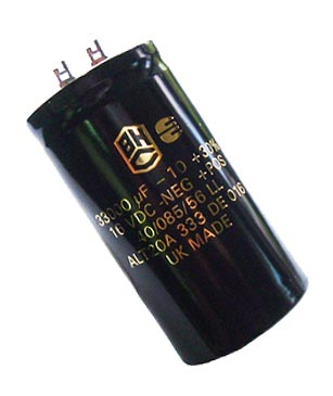 33000uF 16V Radial Electrolytic Capacitor BHC Aerovox ALT20A333DE016