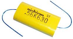 0.56uF .56uF 630V Axial Lead Capacitor Nichicon