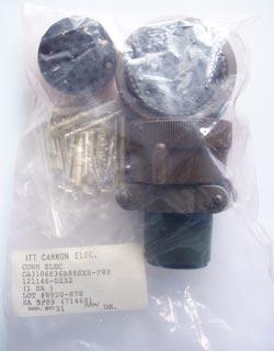 CA3106E36A98SXB F80 Circular Connector ITT Cannon