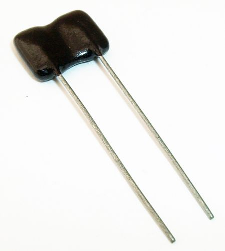 LOT OF 5 62PF 500V DIPPED SILVER MICA CAPACITOR 2/% TOLERANCE