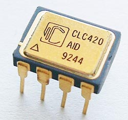 CLC420AID CLC420 High Speed Op Amp Comlinear Corp.