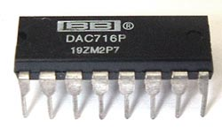 DAC716P DAC716 P Digital to Analog D-A Converter IC
