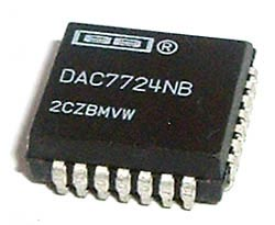 DAC7724NB DAC7724 NB Quad D-A Digital Analog Converter IC Texas Instruments®
