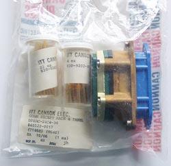 DPSRC-24C4-34 Connector Receptacle Rack Panel ITT Cannon