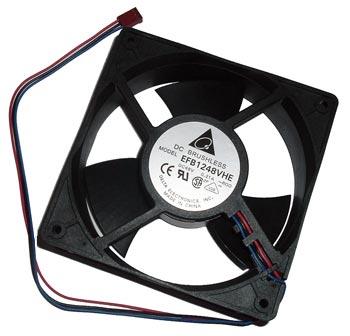 48V 0.21A Box Case Fan EFB1248VHE Delta