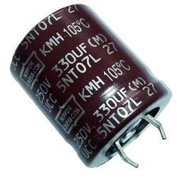 330uF 250V Radial Snap In Electrolytic Capacitor Nippon EKMH251VSN331MQ30
