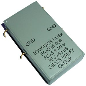 FA6036-00B Low Pass Filter Grass Valley Group