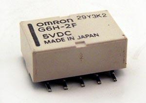 28.1mA 5V PCB Mount Relay G6H-2F