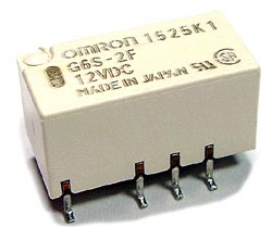 2.0A 12V Low Signal PCB Mount Relay G6S-2F Omron