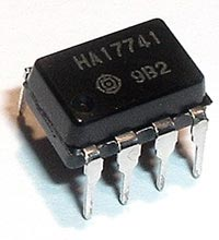 HA17741  Frequency Compensated Op Amp IC Hitachi