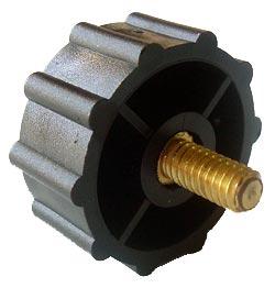 Black Plastic Round Clamping Industrial Knob