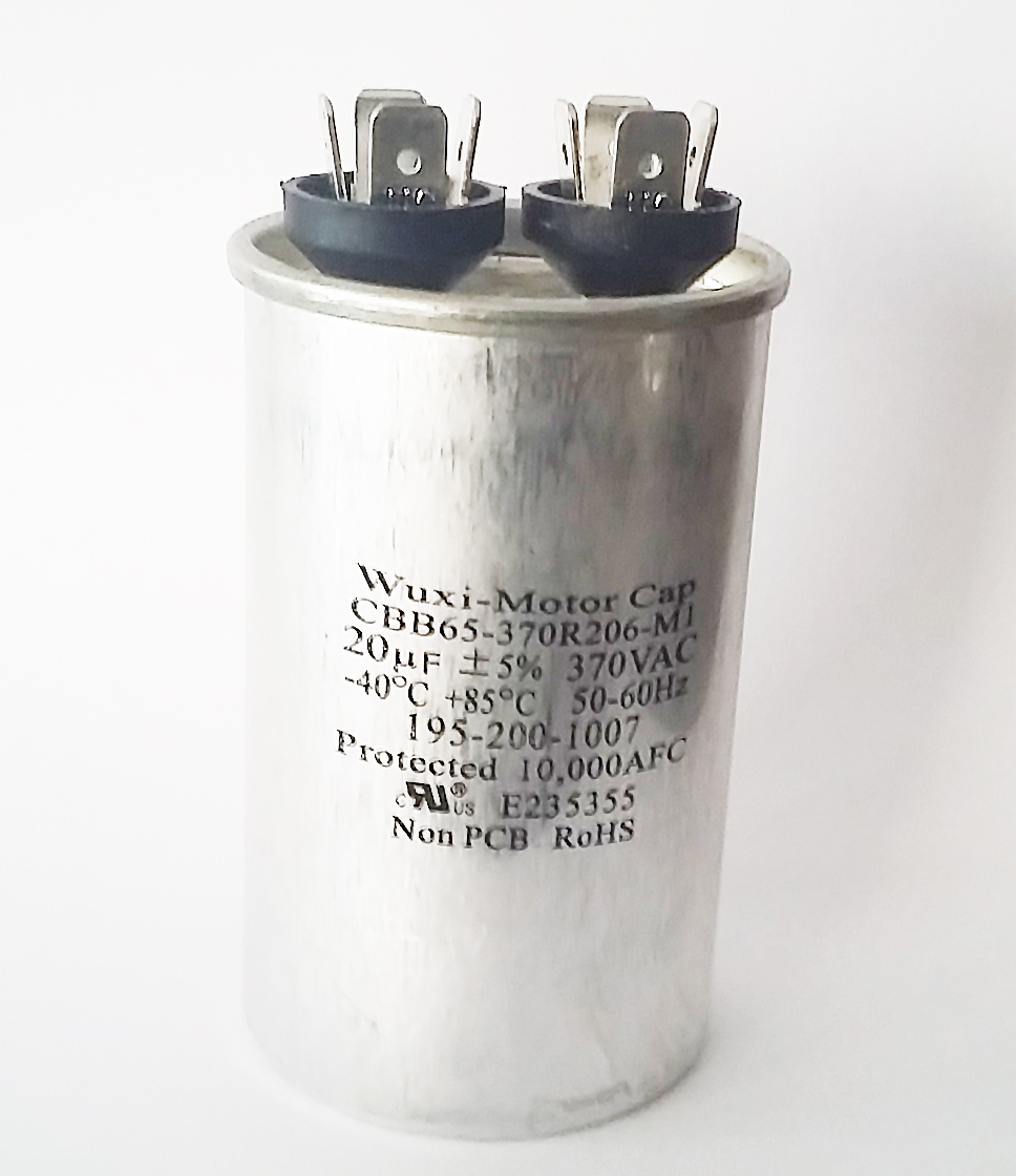 20uF 370VAC Motor Run Capacitors CBB65-370R206-M