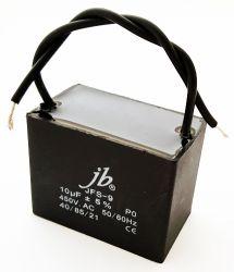 10uF 450VAC Motor Run Metalized Film Capacitor JB Capacitors JFS-9 Series