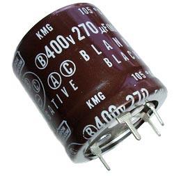 270uF 400V Radial Snap In Electrolytic Capacitor Nippon Chemi Con KMG Series