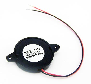 Piezo Audio Transducer Buzzer 4.1KHz 30V 90dB KPE-110