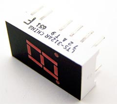 7 Segment LED Display Red Numeric LTS-312AR