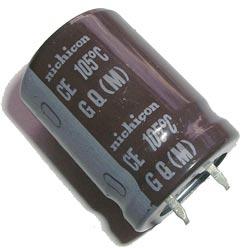 5600uF 25V Radial Snap In Electrolytic Capacitor Nichicon® LGK1E562MHSZ