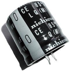 4700uF 63V Radial Snap In Electrolytic Capacitor Nichicon® LLQ1J472MHSB