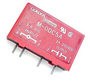 1A 250V Gordos Relay Input Output Module MODC5A M0DC5A