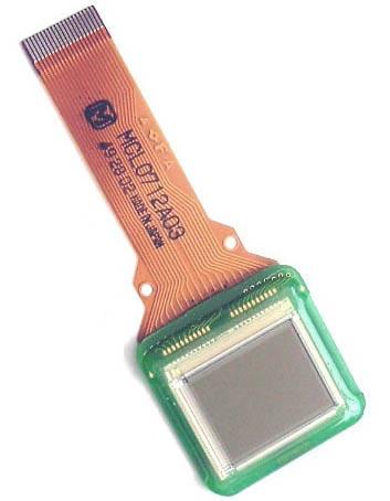 LCD Display Liquid Crystal Camcorder MATSUSHITA MCL0712A03