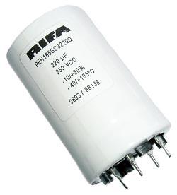 220uF 250V Radial Snap In Electrolytic Capacitor Rifa PEH165SC3220Q
