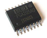 PGA205AU PGA205 AU Instrumentation Amplifier Burr Brown