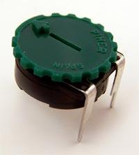 2M ohm Linear Piher Potentiometer PT15YV15-205A3030