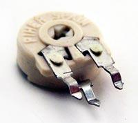 2K ohm Linear Piher Potentiometer Trimpot PTC10LH02-202A2020