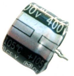 22uF 400V Radial Snap In Electrolytic Capacitor