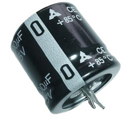 3300uF 25V Radial Snap In Electrolytic Capacitor Panasonic