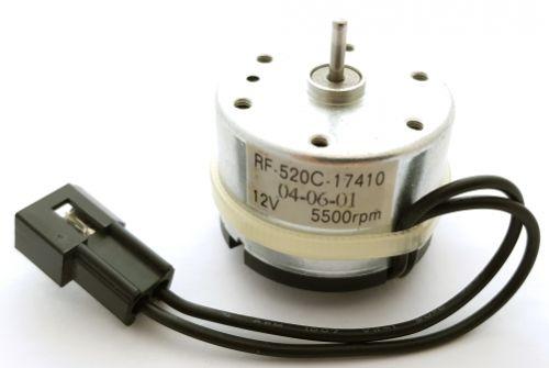 Reversible Motor 12V Electric Low Current Mabuchi RF-520C-17410
