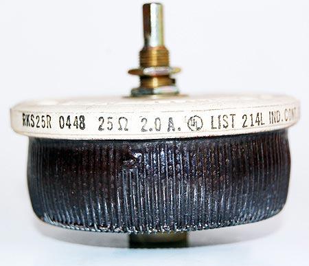 Ohmite Rheostat Potentiometer RKS25R